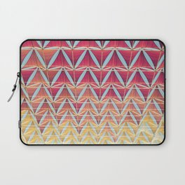 From pink to yellow pattern Laptop Sleeve
