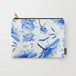 Blue peony 2 Carry-All Pouch