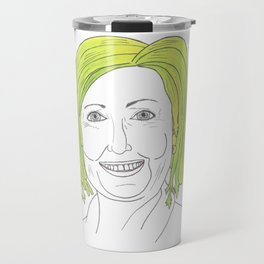 Celery Clinton1 Travel Mug