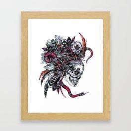 Death God Itzamna Framed Art Print