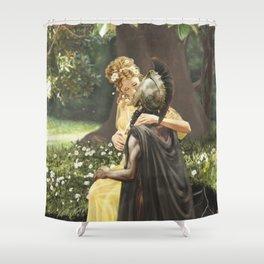 Hades & Persephone Shower Curtain