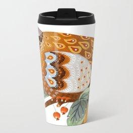 A Partridge In A Pear Tree Metal Travel Mug