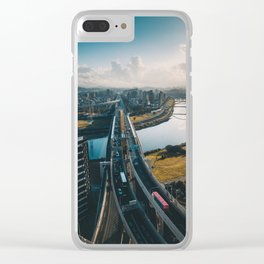 Taipei Highway Clear iPhone Case