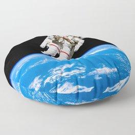 Astronaut Bruce McCandless Floating Free Floor Pillow