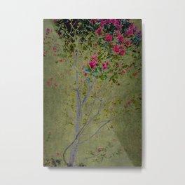 Floral Interlace Metal Print