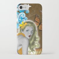 pinup iPhone & iPod Cases featuring Pinup by Sarah Churchill