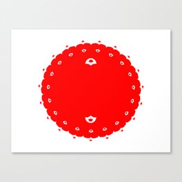 Domino for Japan Canvas Print