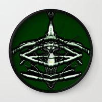 beast Wall Clocks featuring BEAST by lucborell