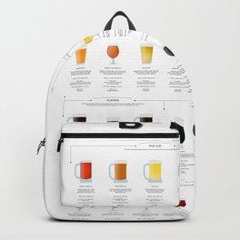 Beer chart - Ales Backpack