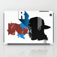 rap iPad Cases featuring Rap by David Navascues