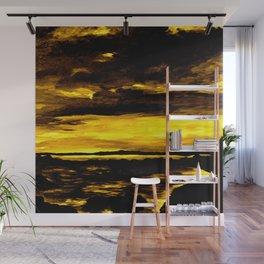 golden sunset Wall Mural