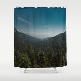 Sequoia National Park XI Shower Curtain