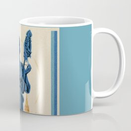 1938 Art deco Textile Expo Brussels Coffee Mug