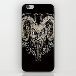 Krampus Nacht iPhone Skin