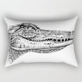 Alligator  Rectangular Pillow