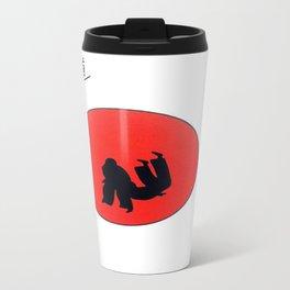 Art Of Judo Print Travel Mug