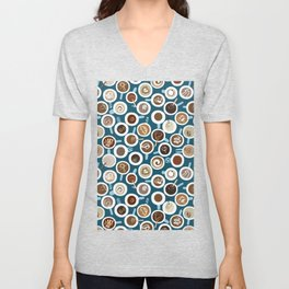 Gimme Coffee—Coffee Your Way | Teal Unisex V-Neck