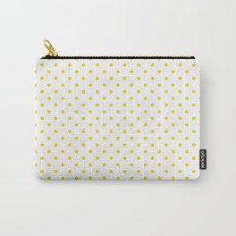 Dots (Gold/White) Carry-All Pouch