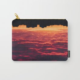 Red Sea City Cloudy Landscape at Sunset Carry-All Pouch