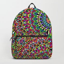 Happy Garden Mandala Backpack