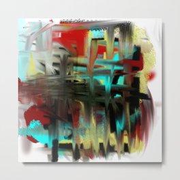 Decorative Abstract Metal Print