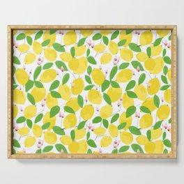 california lemons Serving Tray