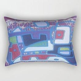 PERRO ROJO DENTRO DEL PAISAJE Rectangular Pillow