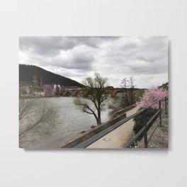 Neckar Metal Print