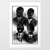 bdsm Art Prints featuring BDSM  by DIVIDUS