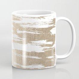 White Gold Sands Paintbrush Coffee Mug