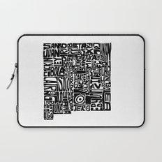 Typographic New Mexico Laptop Sleeve
