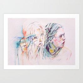 The Dag & Cheedo the Fragile Art Print