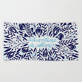 Adventure is Calling – Porcelain Palette Beach Towel