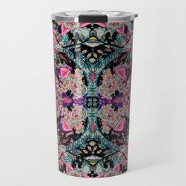 Mandala Colorful Boho Travel Mug