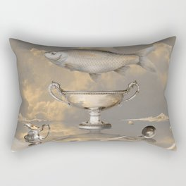 Silver Mood Rectangular Pillow