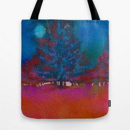 Fall Moonglow Tote Bag