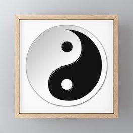 Yin Yang Symbol Framed Mini Art Print