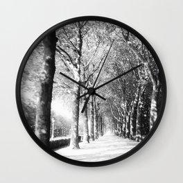 Light Shower Wall Clock