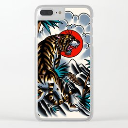 Traditional tiger Clear iPhone Case