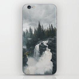Athabasca Falls Alberta iPhone Skin