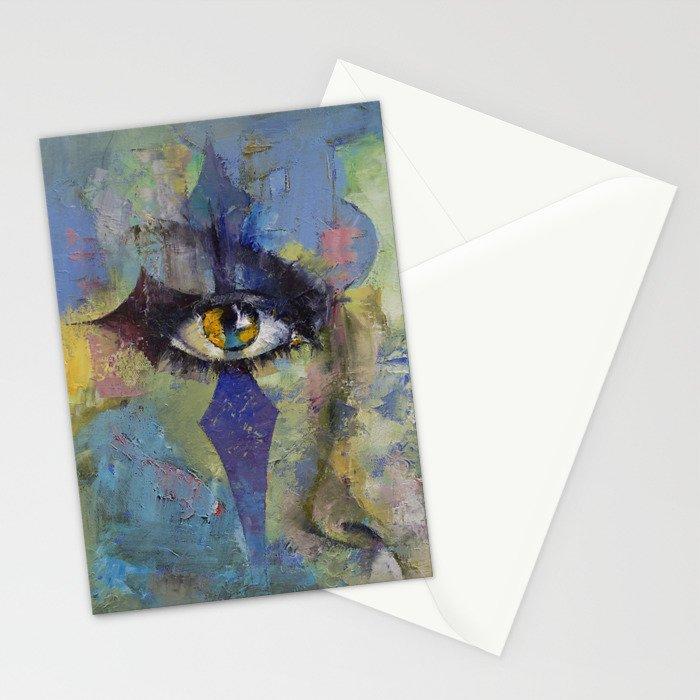 Gothic Art Stationery Cards