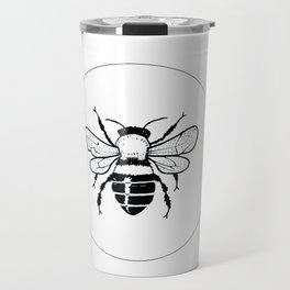 Minimal Bee Travel Mug