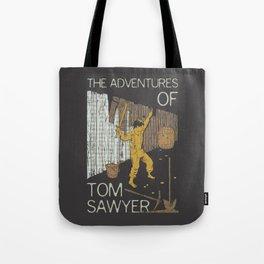 Books Collection: Tom Sawyer Tote Bag