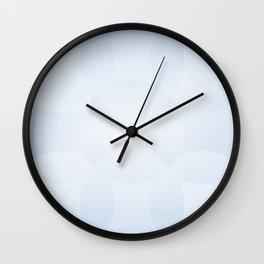 Blue Sky Geometric Wall Clock