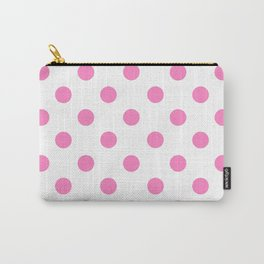POLKA DOT DESIGN (PINK-WHITE) Carry-All Pouch