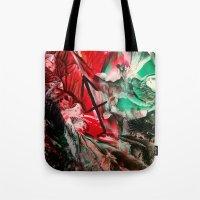 sagittarius Tote Bags featuring Sagittarius  by ART de Luna
