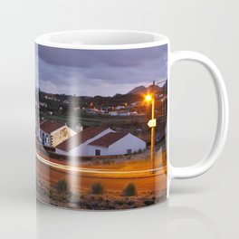 Village in twilight Coffee Mug