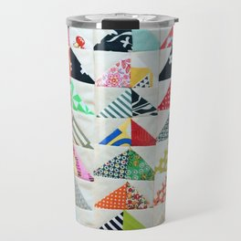 Flying Geese Quilt Pattern Travel Mug