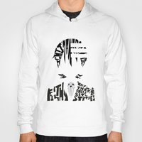 soul eater Hoodies featuring death the kid soul eater by Rebecca McGoran