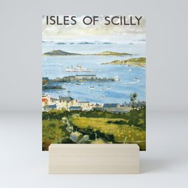 cartel The Isles of Scilly Mini Art Print